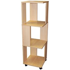 Revolving Filing Storage Shelves / Bookcase