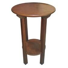 Solid Wood Round End / Telephone Table