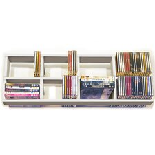 CD / DVD / Blue Ray Double Wall Mounted Storage