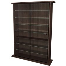 Large Collectable Display Cabinet / CD DVD Storage Tower