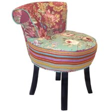 Roses Fan Back Chair