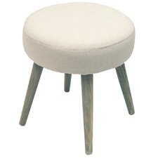 Twill Button Stool