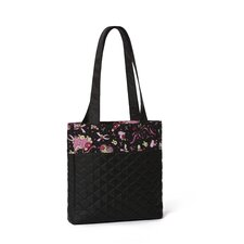 Women's Ribbons Of Hope Quilted Tote Bag