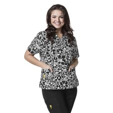 Plus Prints Women's Top