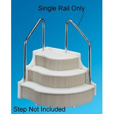 <strong>Ocean Blue Products</strong> Stainless Steel Handrail For Grand Entrance Step, 1-Rail