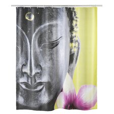 Buddha Polyester Shower Curtain