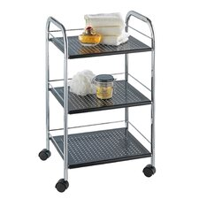 Ovalo Bathroom Shelves with Wheels