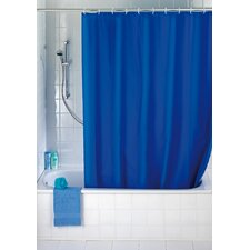 Shower Curtain in Uni Night Blue