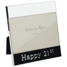 21st Message Photo Frame