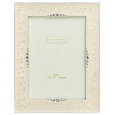 Wedding Photo Frame Starburst Cream Enamel Frame