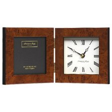 Marquetry Photo Frame and Clock