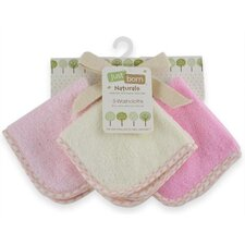 Just Born Organic Washcloths (Set of 3)