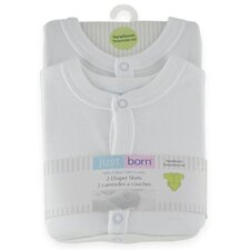<strong>Triboro</strong> Just Born Bodysuit Shirt (Set of 2)