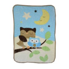 Just Born® Goodnight Owl Hi-Pile Blanket