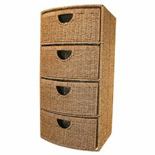 Seagrass 4 Drawer Chest