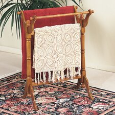 <strong>Powell Furniture</strong> Nostalgic Oak Quilt Rack