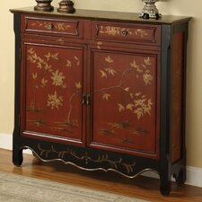 <strong>Powell Furniture</strong> 2 Door 2 Drawer Console