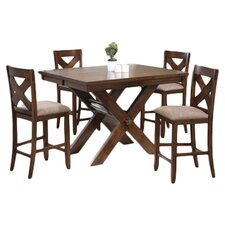 Kraven 5 Piece Counter Height Dining Set