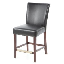 """Cafe 24"""" Bonded Leather Counter Stool"""