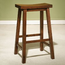 "<strong>Powell Furniture</strong> Antique Black 29"" Bar Stool"