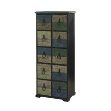 Calypso Tall 10 Drawer Chest
