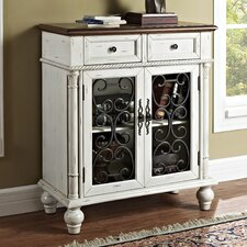 Shabby 2 Drawer 2 Door Console