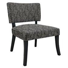 Black Firework Side Chair