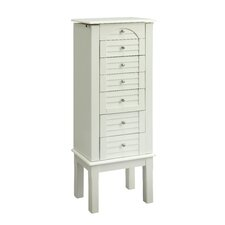 Jewelry Armoire with Mirror II