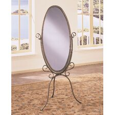 Garden District Scroll Cheval Mirror