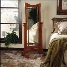 Mission Oak Cheval Mirror