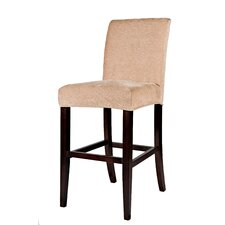 <strong>Powell Furniture</strong> Classic Bar Stool with Cushion