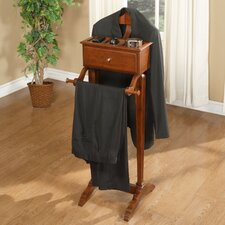 Marquis Cherry Men's Valet Stand