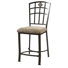 <strong>Powell Furniture</strong> Jefferson Swivel Bar Stool with Cushion