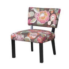 Floral Slipper Chair