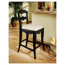 "Hills of Provence 24"" Bar Stool with Cushion"