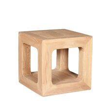 Reclaimed Wooden Side Table / Stool