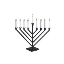 9 Branch Electric Menorah