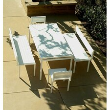 <strong>Modern Outdoor</strong> Talt 5 Piece Dining Set