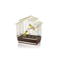 Pagoda Export Bird Cage in Brass