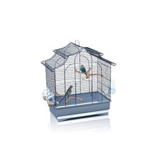 Pagoda Export Bird Cage in Blue