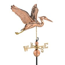 <strong>Good Directions</strong> Heron Weathervane