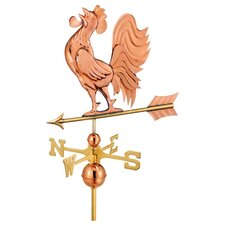 Full Size Weathervane Crowing Rooster