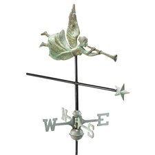 Angel Weathervane with Garden Pole