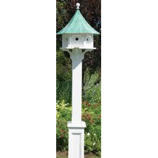 Lazy Hill Farm Hammersley Bird House Post