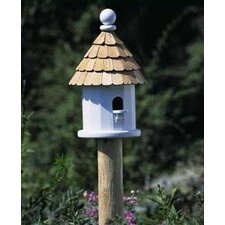 Lazy Hill Farm Cedar Bird House Post