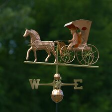 <strong>Good Directions</strong> Full Size Weathervane Country Doctor in Polished