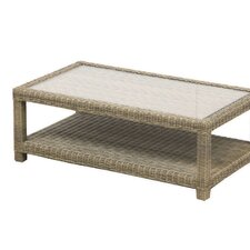Sahara Rectangle Coffee Table with Shelf