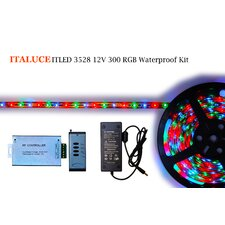 ITLED Waterproof 4 Light Key Controller Kit