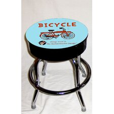 Busted Knuckle Garage Kid's Swivel Bicycle Stool