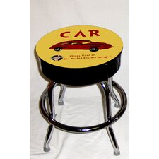 Busted Knuckle Garage Kid's Swivel Old Automobile Stool